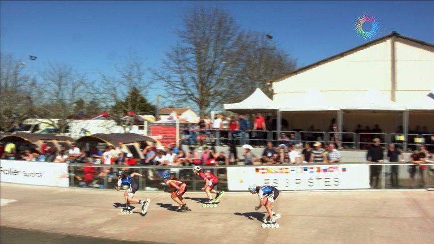 3 Pistes 2016 Pibrac junior F B 500m finale