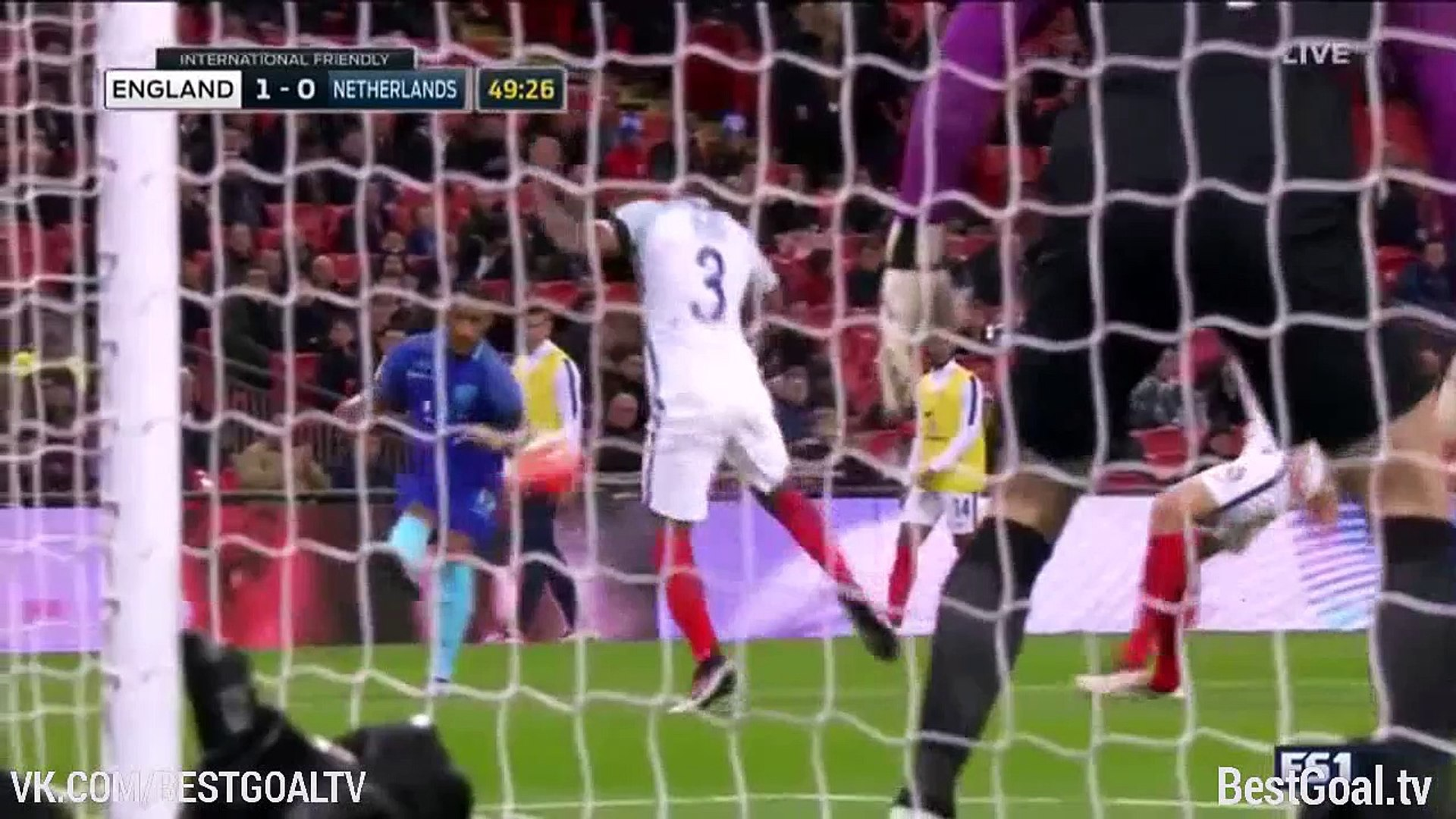 Англия 1_2 Нидерланды. Обзор матча и видео голов
