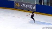 [2013.01.05] 이준형 June-Hyoung LEE SP    2013 Korean Nationals    Senior Men SP   