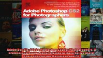 Adobe Bundle Adobe Photoshop CS2 for Photographers A professional image editors guide