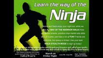 Ninja Night - A Starworld-AMAF Parents' Night Out Event