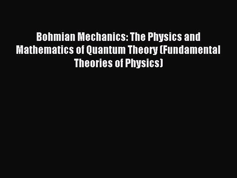 David Bohm Quotes: Quantum Physics