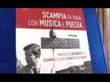 Napoli - L'Auditorium Scampia intitolato a Fabrizio de André (29.03.16)