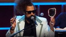 Reggie Watts Shaves His Beard