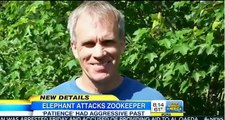 ▶ Elephant Attacks & Kills Zookeeper  Patience had Aggressive Past  Grieving elephant tramples keepe