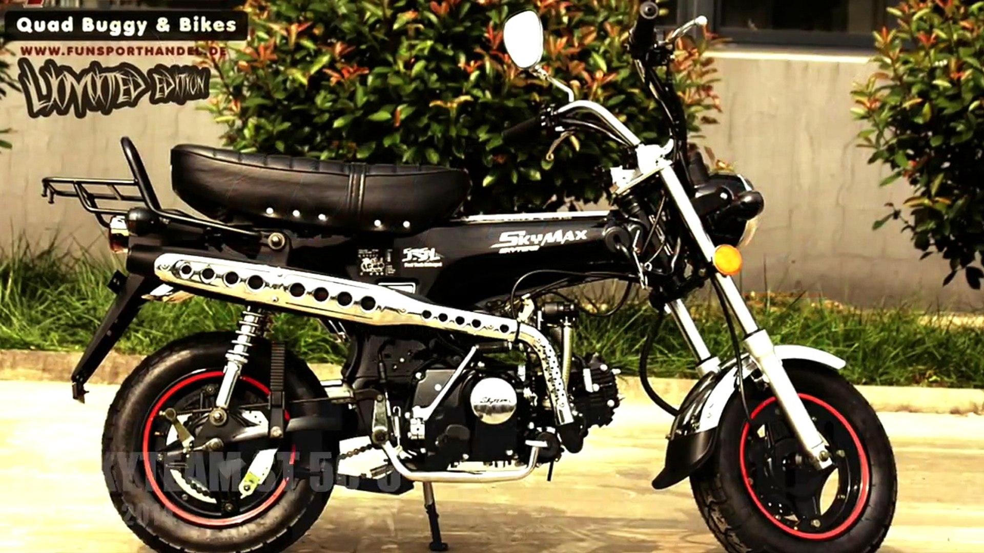 Skyteam ST50-6 - Honda Dax Nachbau 50ccm Moped - NEU 2014