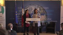 Discours d'ouverture de Ségolène Royal : Cérémonie des démonstrateurs industriels pour la ville durable