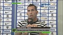 """Carlos Tevez: """"Nosotros jugamos al fútbol, Messi juega a otra cosa"""""""