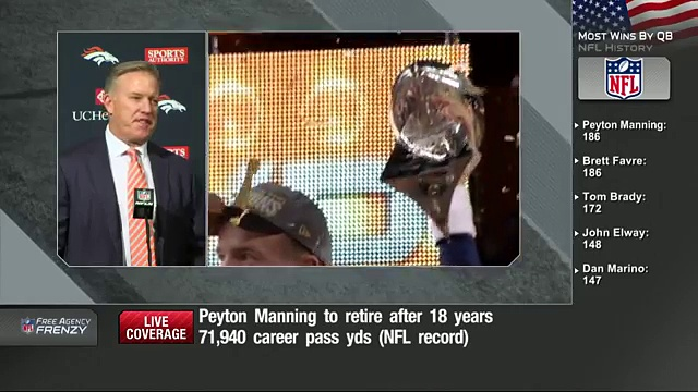 Peyton Manning Retirement Press Conference (Full)  NFL News 5