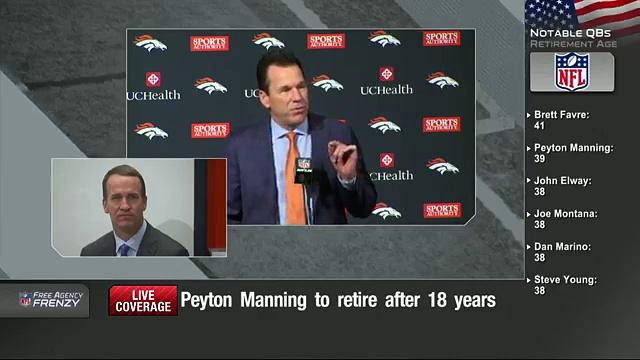 Peyton Manning Retirement Press Conference (Full)  NFL News 9