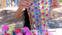 Easter Egg Hunt Lambie Easter Basket + Surprise Eggs Opening|B2cutecupcakes