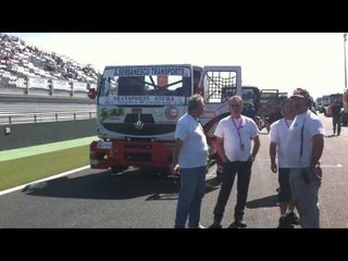 Grand Prix Camions - Grille F1 Magny-Cours 2011