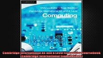 Download Cambridge International AS and A Level Computing