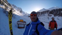 « Follow me » : la première descente speedriding du Col de la Bailleta