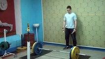 Самылов Слава, 16 лет, вк 69 Рывок 90 кг на 2р