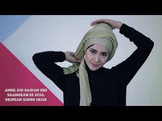 Tutorial Hijab Turban Glitter Glamour