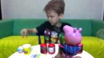 Peppa Pig Hulk Marvel Surpresa Homem Aranha Massinha Play Doh Toys Peppa Pig Surprise Eggs