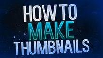 How to Make Thumbnails for YouTube Videos 2015! Photoshop Thumbnail Tutorial!
