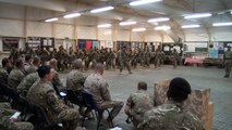 Epic Video of 60 Tonga Marines Doing the All Blacks Haka With Their Weapons