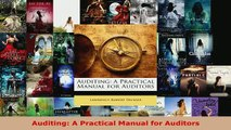 PDF  Auditing A Practical Manual for Auditors Read Full Ebook