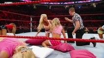 DIVA WWE WRESTLING - PAJAMA AND PILLOW FIGHT MATCH - WWE Wrestling - Entertainment Sports Diva Women Women's Wrestling