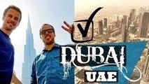 DUBAI, UAE   Travel Vlog   Burj Khalifa and Giant Malls!