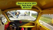 Course de côte du Luc 2016   Patrick Brochet   4CV Gr.Fc/2 2ème monte