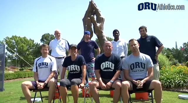 #ALSIceBucketChallenge – ORU Track & Field Staff