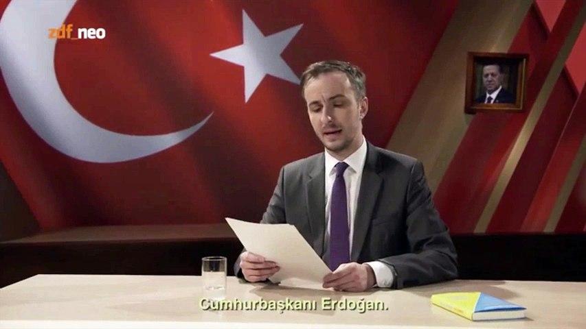 Verboden Duitse satire over de Turkse president Erdogan