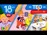 TEO   Collection 05 (Teo and Paul)   Full episodes for kids   18 minutes