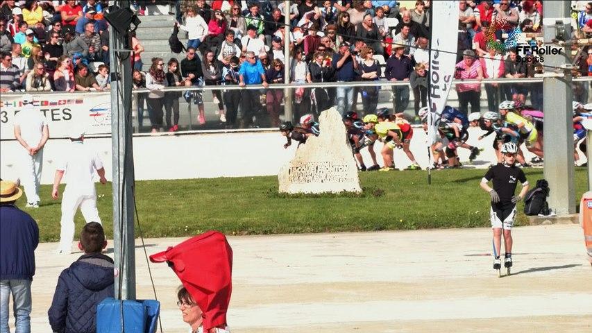 3 pistes 2016 Valence cadette F élimation finale
