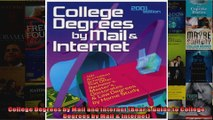 College Degrees by Mail and Internet Bears Guide to College Degrees by Mail  Internet