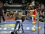 AAA-SinLimite 2009-02-28 Cuernavaca 01 Gran Apache, Fabi Apache & Mari Apache vs. Billy Boy, Tiffany & Oriental