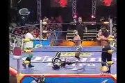 AAA-SinLimite 2009-02-28 Cuernavaca 04 Joe Lider, Nicho el Millionario & Silver King vs. Alex Koslov, Crazy Boy & La Parka Jr