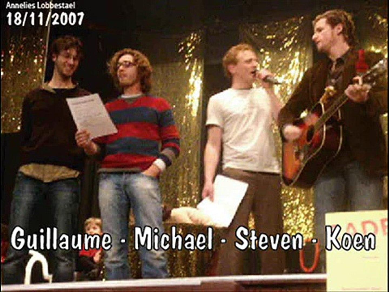Guillaume, Michael, Steven & Koen