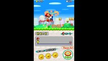 TAS! New super mario bros World 1-1 mega mario speedrun