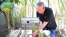 REAL LIFE DEMO of our Family Mini Sugarcane Juicer - TT400 Mini Pro