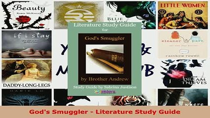 Download  Gods Smuggler  Literature Study Guide  Read Online