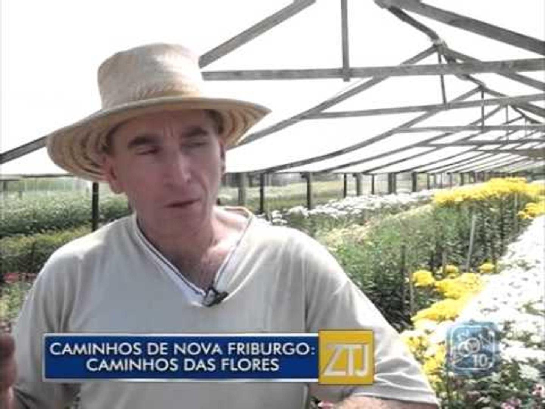 02-10-2015 - CAMINHOS DE NOVA FRIBURGO: CAMINHOS DAS FLORES - ZOOM TV JORNAL