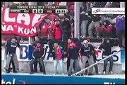 Hinchas de Independiente rompen el Alambrado del Monumental River 2 vs Independiente 1