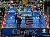 AAA-SinLimite 2009-06-07 Pachuca 05 Dr. Wagner Jr. & Konnan vs. El Mesias & Silver King