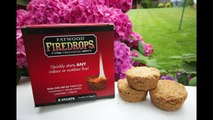 Fatwood Firedrop Firelighters Video from Eco Products Worldwide