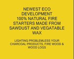 Natural Fire lighters for charcoal, wood briquettes, fire logs