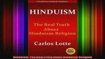 Read  Hinduism The Real Truth About Hinduism Religion  Full EBook