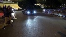 Voiture de police vs. Lamborghini Aventador