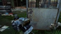 The Last of Us™, stabs, booms, and another I cannot explain.