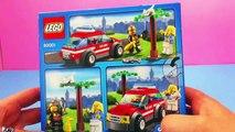 Voiture de pompier Lego City Unboxing – Voiture de pompier de LEGO®