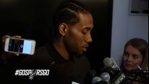 Kawhi Leonard Postgame Interview - Mavericks vs Spurs - April 19, 2016 - 2016 NBA Playoffs