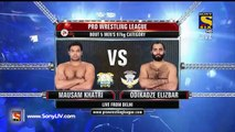 Pro Wrestling League 2015-Gurpal Singh Vs Odikadze Elizbar-21st December 2015