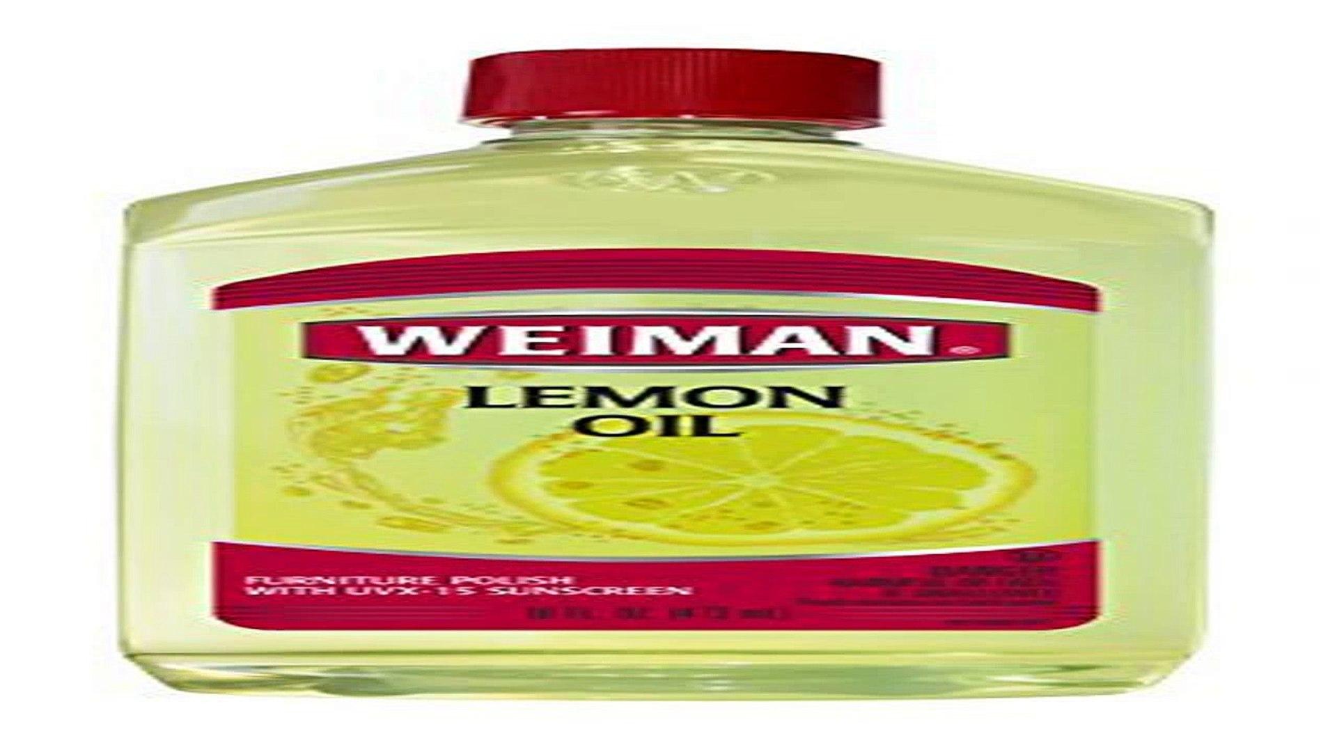 Weiman Lemon Oil Furniture Polish 16 Fl